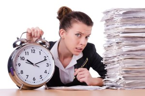 http://www.dreamstime.com/stock-photos-woman-businesswoman-under-stress-missing-her-deadlines-image46982593